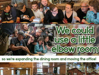 We Could Use a Little Elbow Room!
