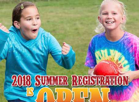 Summer Registration is Open!