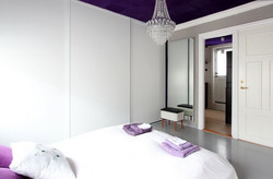 Bedroom, main apartment.