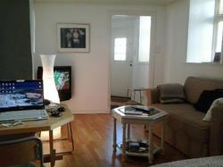 Studio-flat, living-room