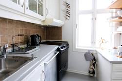 Kitchen, main apartment.