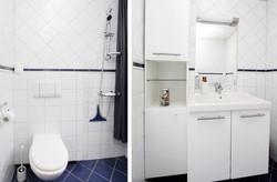 Bathroom, main apartment.