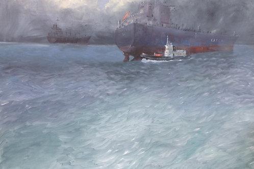 Tug Boat off Falmouth
