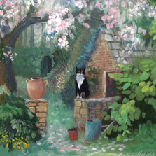 Garden Cat £350