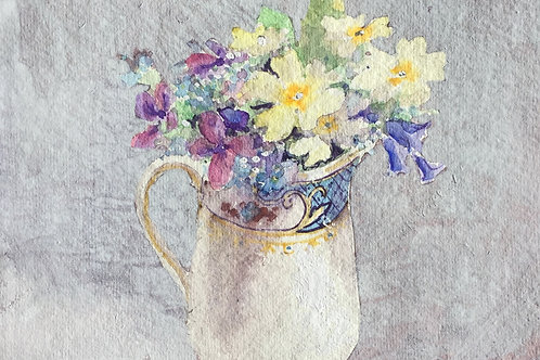 Primroses and Voilets