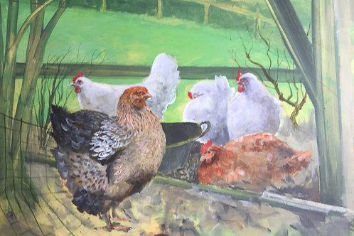 The Artists Chickens