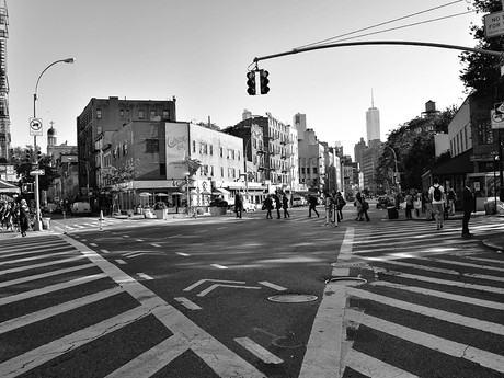 Striving to get the 'bleak' out of Bleecker Street