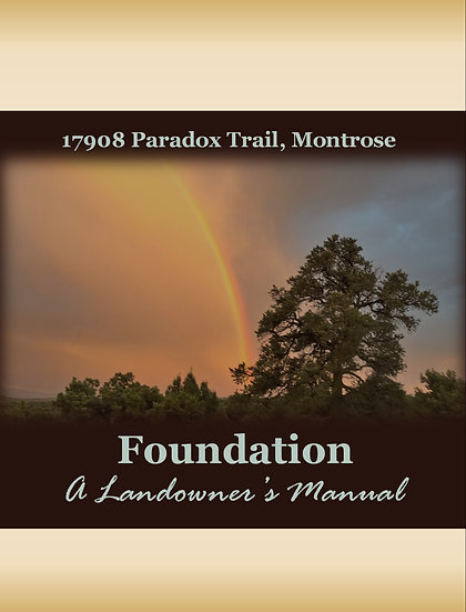 Foundation: a Landowner's Manual