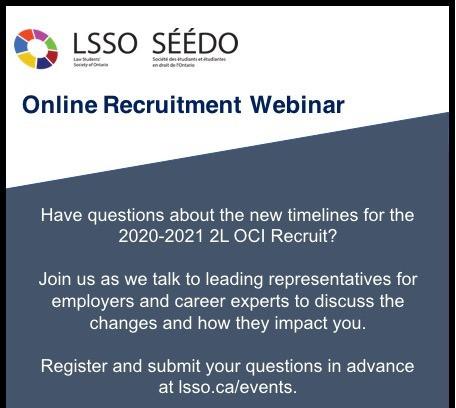 Recording of LSSO Recruitment Webinar