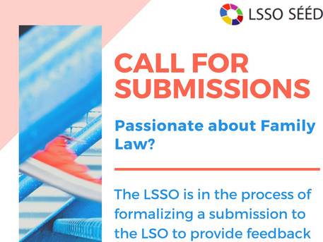 Passionate about Family Law? We want to hear from you!