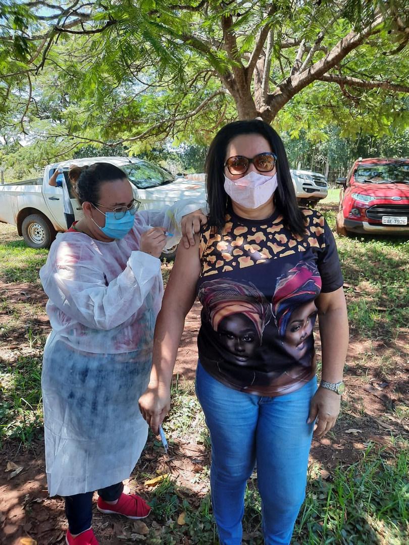 Vacinação - Comunidade dos Pretos