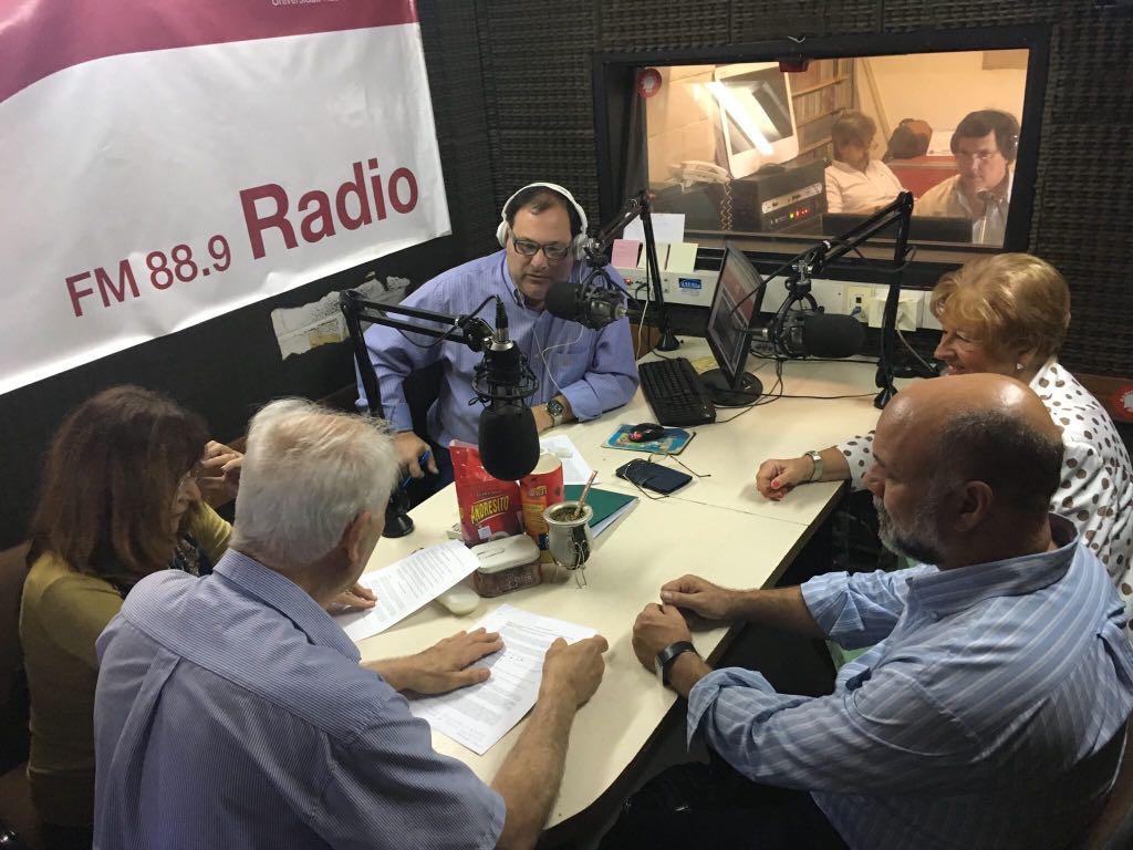 Entrevista para radio de Lujan
