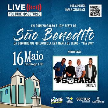 Evento em São Benedito