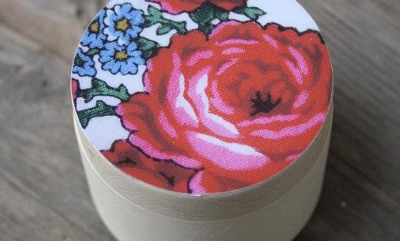 Träask 60mm rosa ros