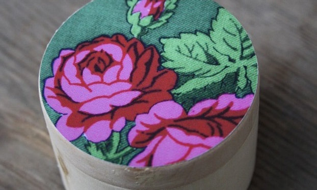 Träask 60mm grön ros
