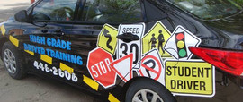 Decal package for High Grade Driver Trai