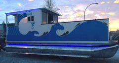 Pontoon boat, The Dirty Oar.jpg