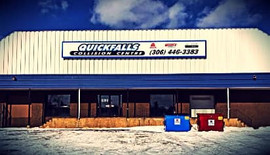Quickfalls Collision Centre dibond sign.