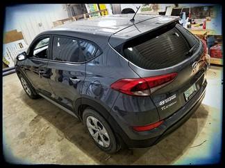 2018 Tucson SE - 15% Window Tint on back