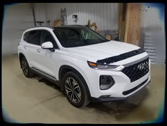 2019 Hyundai Santa Fe has Front Bumper,