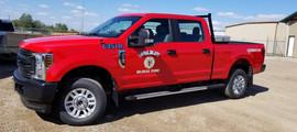 Wilkie Rural Fire truck package decals.j