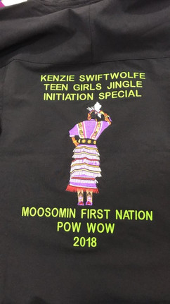 Custom embroidery for Moosomin First Nat