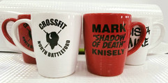 Some very cool personalized mugs that we