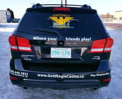 Dodge Journey from the Gold Eagle Casino