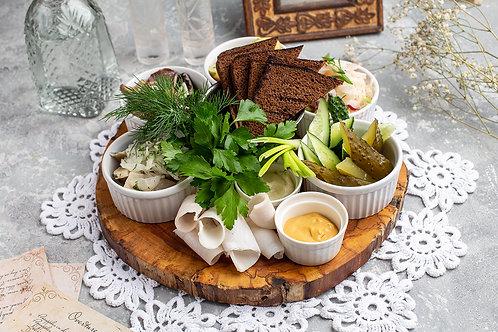 Традиционные русские закуски