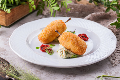 Котлета ново-михайловская с картофельным пюре
