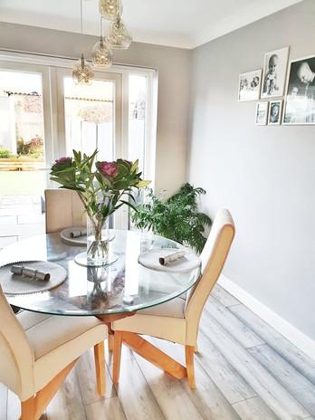 Dining room redecoration