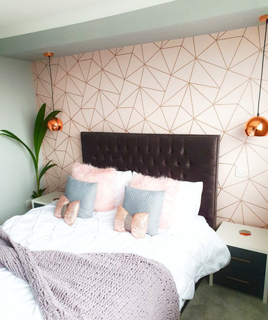 Main bedroom decoration