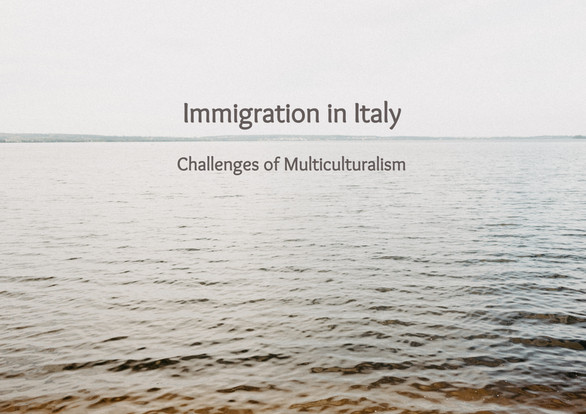 Immigration in Italy: Challenges of Multiculturalism