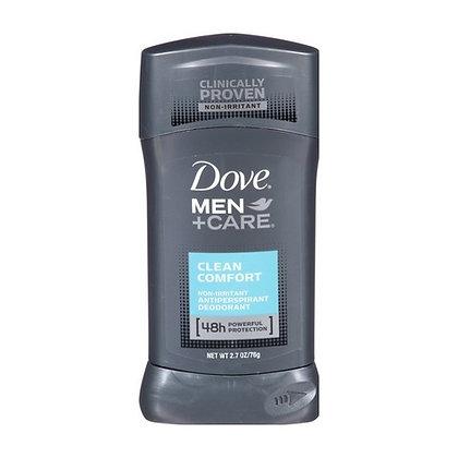 Desodorante en Barra Clean Confort para Hombres 2.7 oz. / Dove