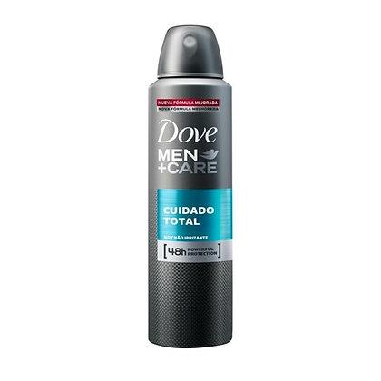 Desodorante Aerosol Cuidado Total para Hombres 150 ml. / Dove