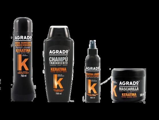 Linea capilar keratine Agrado / Yass