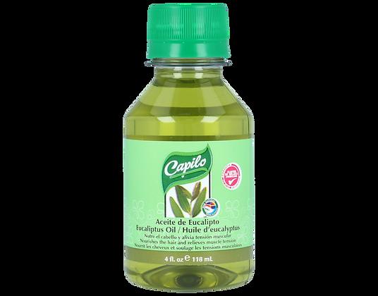 Aceite de Eucalito 4 oz. / Capilo