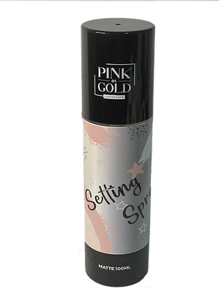Setting Spray 100 ml. / PINK AS GOLD