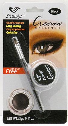 Delineador Negro para Ojos / Amuse