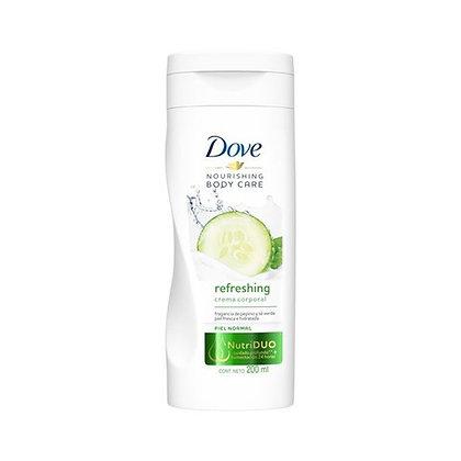 Crema Go Fresh Pepino 200 ml. / Dove