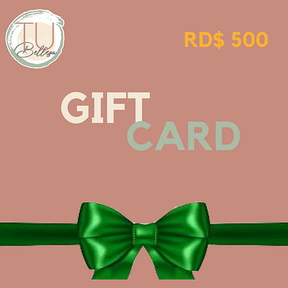 Gift Card / Tarjeta de Regalos