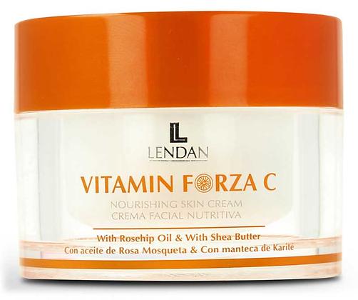 Crema Facial Nutritiva Para Pieles Normales y Secas 50 ml. / LENDAN