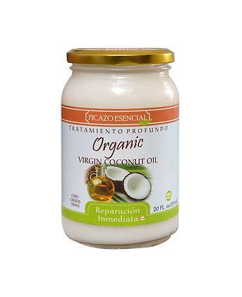 Tratamiento Profundo Virgin Coconut Oil 20 Oz. / Picazo Esencial