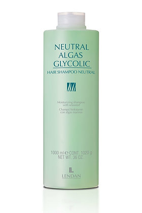 Shampoo Neutralizante de PH 1000 ml. ALGAS GLYCOLIC / LENDAN