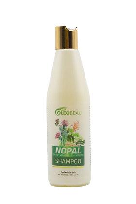 Shampoo Nopal Orgánico 16 oz. / OLEOBEAU