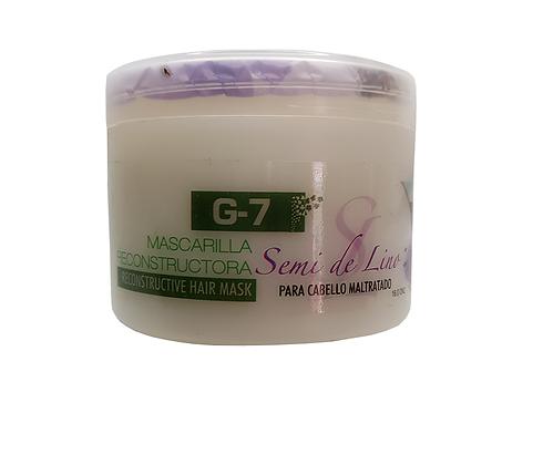 Mascarilla de linaza 16 oz. / G7