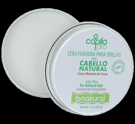 Cera fijadora para orillas B-Natural 2 oz. / Capilo Pro