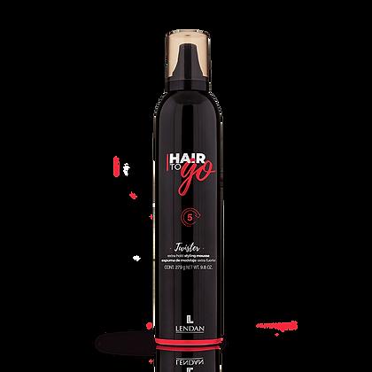Espuma Extra Fuerte TWISTER Hair To Go 300 ml. / LENDAN