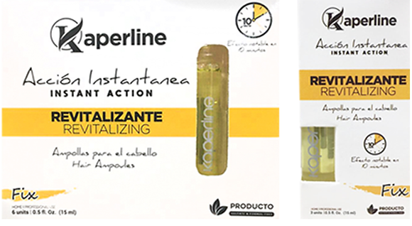 Ampollas Revitalizantes 3 UD - 6 UD / Kaperline