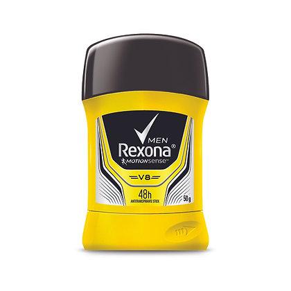 Desodorante en Barra V8 Para Hombres  50g. / Rexona